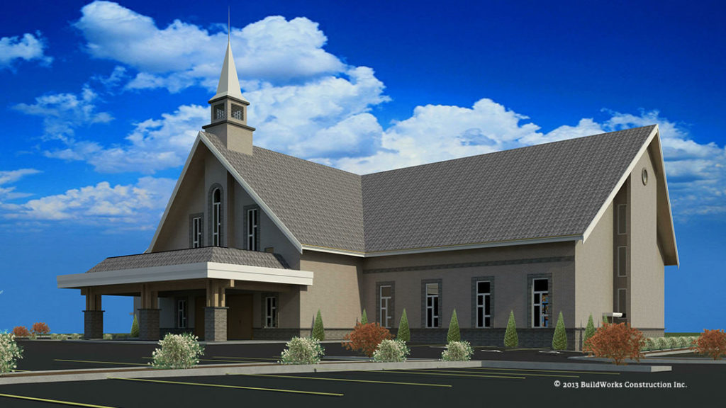 Commercial Drafting - Church Design - RCNA