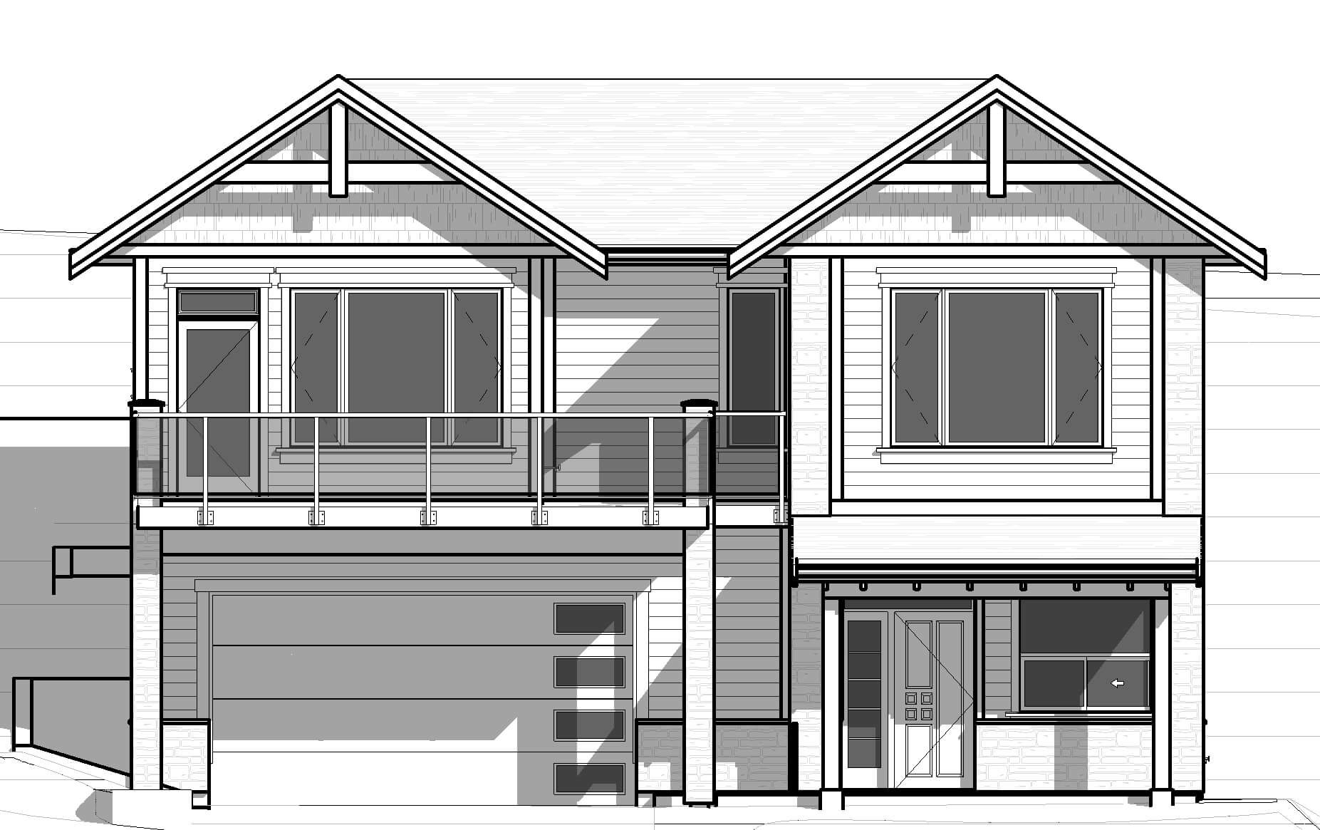 18048-Front-Elevation Castlerock House Plan on house painting, house exterior, house plants, house foundation, house construction, house rendering, house clip art, house styles, house drawings, house maps, house roof, house design, house structure, house models, house building, house layout, house elevations, house framing, house blueprints, house types,