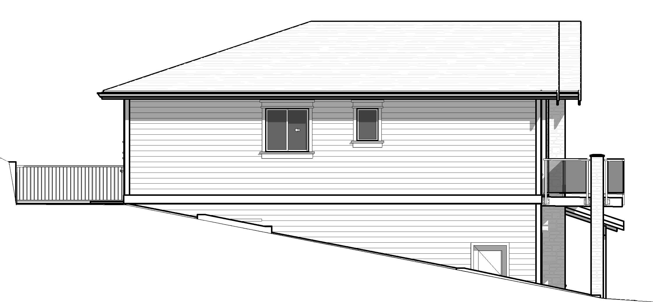 18048-Left-Elevation Castlerock House Plan on house painting, house exterior, house plants, house foundation, house construction, house rendering, house clip art, house styles, house drawings, house maps, house roof, house design, house structure, house models, house building, house layout, house elevations, house framing, house blueprints, house types,